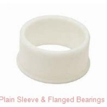 Oilite FF2000- Plain Sleeve & Flanged Bearings